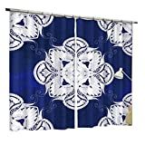 ZZHL Curtains Curtains,Screen Partition Blackout Thermal Insulation S Hook Track Eyelet Darkening Living Room Bedroom 2 Panels (Size : 1.6x2.7m)
