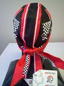 Racing Flags Medical Scrub Cap Headwrap