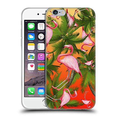 Officiel Mark Ashkenazi Modèle Flamant Étui Coque en Gel molle pour Apple iPhone 6 / 6s