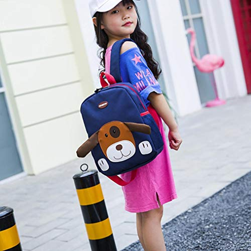 Baby Cartoon Pattern Toddler Blue Bags Bag Girls Boys Dog Dark School Kids EUzeo Backpack Upqg16g