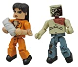 Diamond Select Toys The Walking Dead Minimates: Series 4 Prison Lori and Shoulder Zombie Action Figure