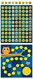 Carson Dellosa Owls Mini Incentive Charts