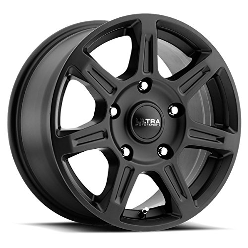 Ultra 450SB Toil Van 16×6.5 5×160 +45mm Satin Black Wheel Rim