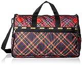 LeSportsac Large Weekender Bag, Cozy Plaid Weekender, One Size