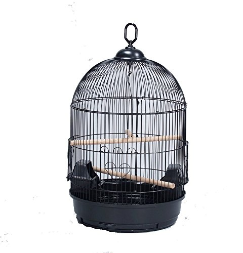 ROUND BIRD CAGE Cockatiel Lovebird Finch Canary 13