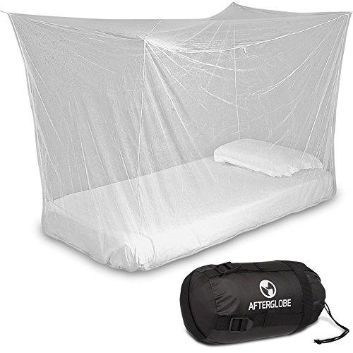 Travel Box Net - Einzelbett mit vollen hängenden Kit - ultimative Moskito Mückenschutz für das tropische Camping Wandern