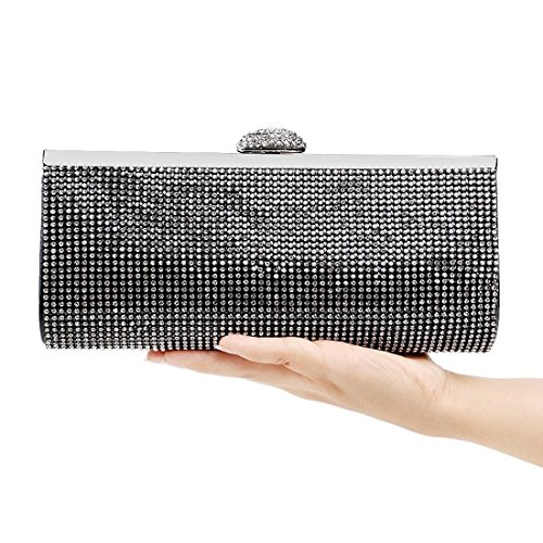 KERVINFENDRIYUN Diamond Bag Clutch Purse Ladies Banquet Black Evening Handbag Bag Color Black 6OSq6