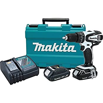 """Makita XPH01RW 18V LXT Lithium-Ion Compact Cordless 1/2"""" Hammer Driver-Drill Kit (2.0Ah) (Discontinued by Manufacturer)"""