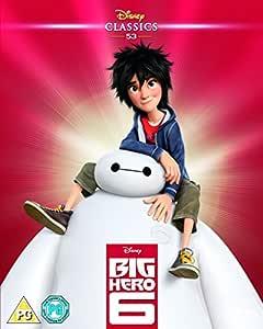 Big Hero 6 (2014) (Limited Edition Artwork Sleeve) [Blu-ray] [Region Free]