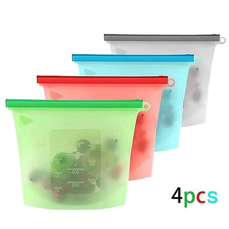 Amazon.com: BlueSpace - Juego de bolsas reutilizables de ...