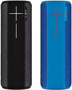 Ultimate Ears Boom 2 - Altavoz portátil individual (Bluetooth, 360 grados, impermeable, 15 horas de batería, resistente a golpes), Negro/Azul: Amazon.es: Electrónica