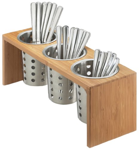 Cal-Mil 1425-3-60 Bamboo 3 Cylinder Display