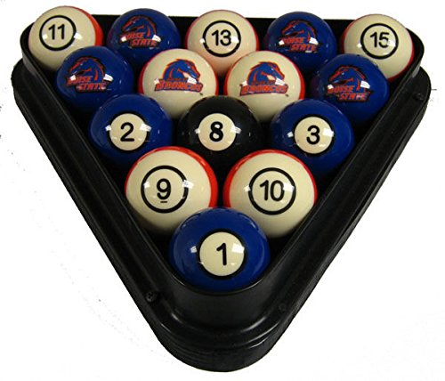 wave NCAA Boise State Broncos Numbered Pool Balls Set - College Football (Boise State Pool)