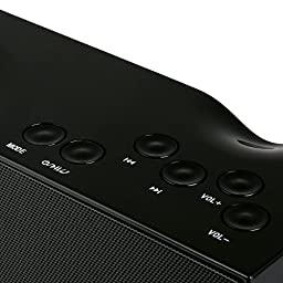 Captain Bluetooth Speakers Portable - The Best Wireless Bluetooth Speaker (High Definition Audio, Built-in Microphone, FM Radio, 2x3.5W Acoustic Drivers, 12 Hours Playtime)