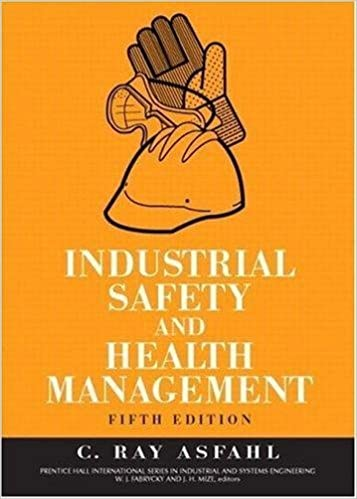 Industrial Safety And Health Management Book