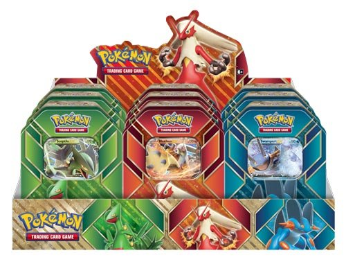 TCG: Hoenn Power Tin Card Game by Pokémon