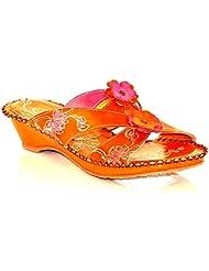 Via Veneto by Avanti Womens Chelsey Leather Slide Sandals
