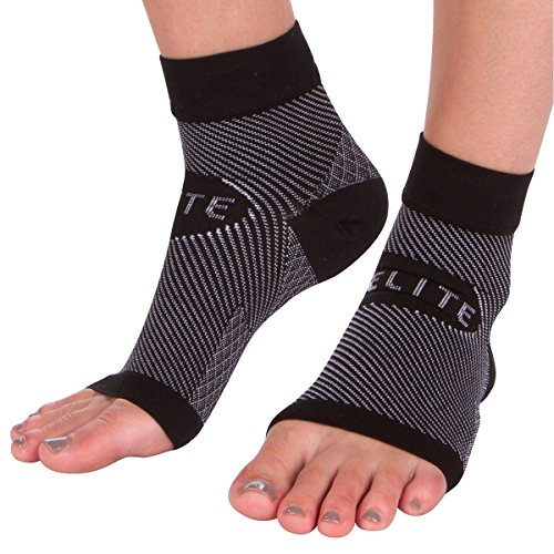 Ankle Sleeve Support Wrap (1 Pair) Best Brace Dorsal Night Splint Boot for