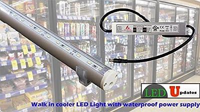 Walk In Cooler Fridge Led Light 5ft C3014 With Ul Power Supply
