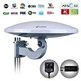 Best off air antenna - ANTOP UFO 360 Degree Amplified Home/RV TV Antenna-4K Review