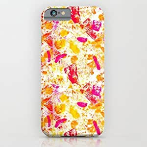 Society6 - Abstract Watercolor Pattern (2 Of 4) iPhone 6 Case by Mollykd