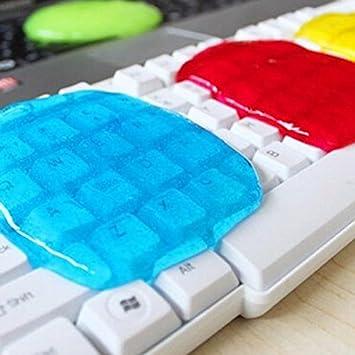 Mayitr Teclado Limpiador Compuesto Goma Pegamento Viscoso - Color al Azar