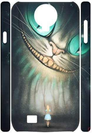 3d Kyle5 V gato de Cheshire Samsung Galaxy S4 caso barato lindo ...