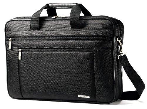 "Samsonite 17"" Classic Slimbrief Notebook Case, Ballistic Nyl"