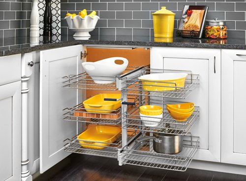 Blind Corner Optimizer 3-Tiers with Soft-Close