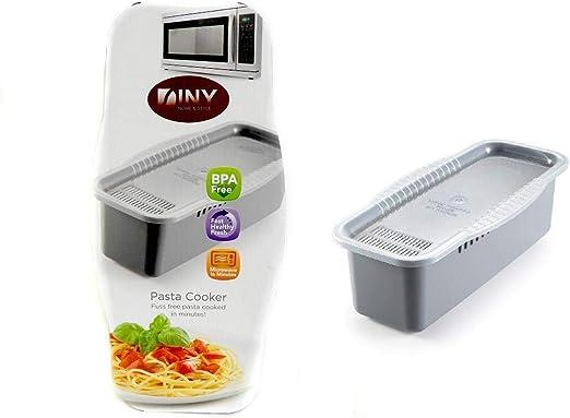 Amazon.com: Olla de pasta sin BPA para microondas con ...