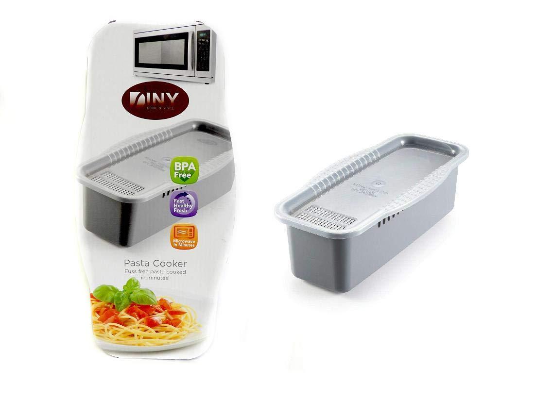 Olla de pasta sin BPA para microondas con herramienta de porción ...