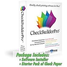 CheckBuilderPro - Check Printing Software for Macintosh