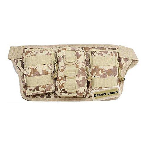 Outdoor-Camping Wandern Hôfttasche Military Tactical Trekking Hôfttasche Tasche Camo Beutel Armeegrôn aq4Nqz5B