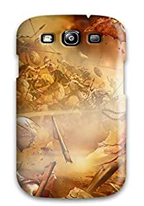 Galaxy S3 Hard Back With Bumper Silicone Gel Tpu Case Cover War Video Game