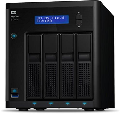Western Digital 16TB My Cloud EX4100 Expert Series 4-Bay NAS Festplatte - LAN - WDBWZE0160KBK-EESN