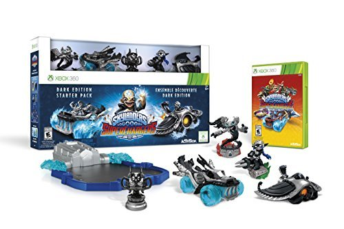Skylanders SuperChargers Dark Edition Starter Pack - Xbox 360 by Activision