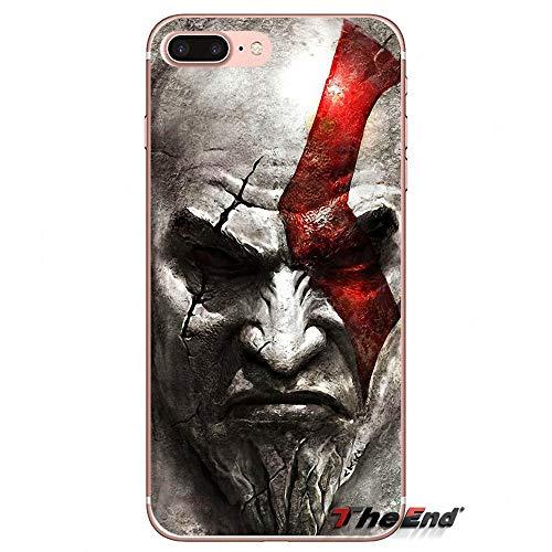 1 piece Accessories Bag Case For iPhone X 4 4S 5 5S 5C SE 6 6S 7 8 Plus Samsung Galaxy J1 J3 J5 J7 A3 A5 2016 2017 God of War Kratos III (Cases Louis Vuitton 4s)