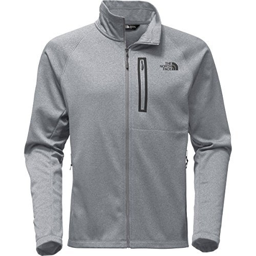 The North Face Men's Canyonlands Full Zip TNF Medium Grey Heather - L by The North Face