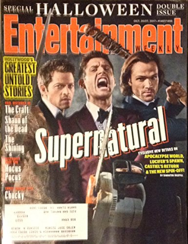 Entertainment Weekly October 20/27, 2017 Supernatural - Special Halloween Double Issue