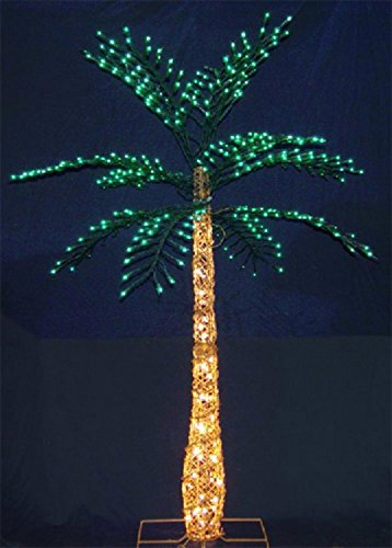 Lighted Outdoor Decorative Palm Tree - 2