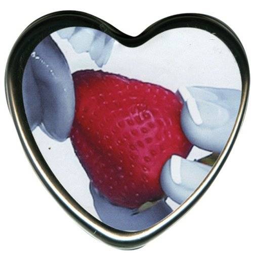 Earthly Body Edible Candle - Strawberry
