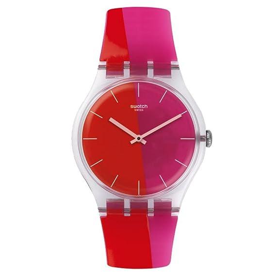 Swatch Gent hombre Nuevo suok117 Multi silicona reloj cuarzo suizo: Swatch: Amazon.es: Relojes