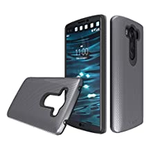 LG V10 case, Toiko®[X-Guard] A sturdy, beautiful, protective case made of two layers perfect fit for LG V10 2015 mobile phone case