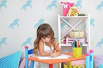 Diy Materials Kids Girls Unicorn Bedroom Wall Decor Stencil Paint Walls Fabrics Furniture Home Furniture Diy Omnitel Com Na