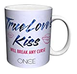 Once Upon a Time Evil Queen True Love's Kiss Quote Fantasy Drama Fairy Tale TV Television Show Ceramic Gift Coffee (Tea, Cocoa) 11 Oz. Mug