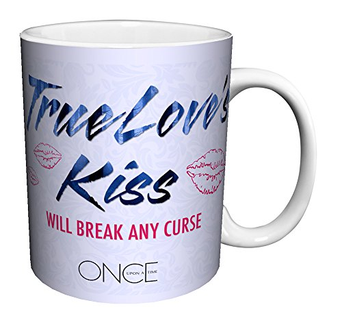 Once Upon a Time Evil Queen True Love's Kiss Quote Fantasy Drama Fairy Tale TV Television Show Ceramic Gift Coffee (Tea, Cocoa) 11 Oz. -