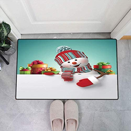 落書きソフトドアマット、手描き愛落書き心雲素敵な猫と鳥風船リビングルームのための装飾的な巨大なハート形、19.6