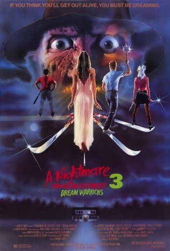 A Nightmare on Elm Street 3: Dream Warriors POSTER Movie (27 x 40 Inches - 69cm x 102cm) (1987)