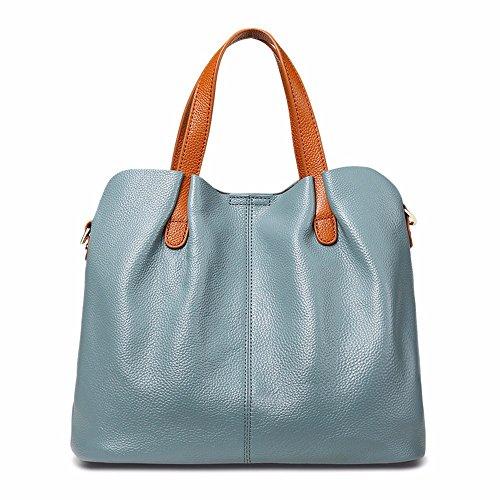 The New Leather Bag For Women, Fashion Bag Hit Son, Shoulder Bag, Bag, Bag, Black Blue