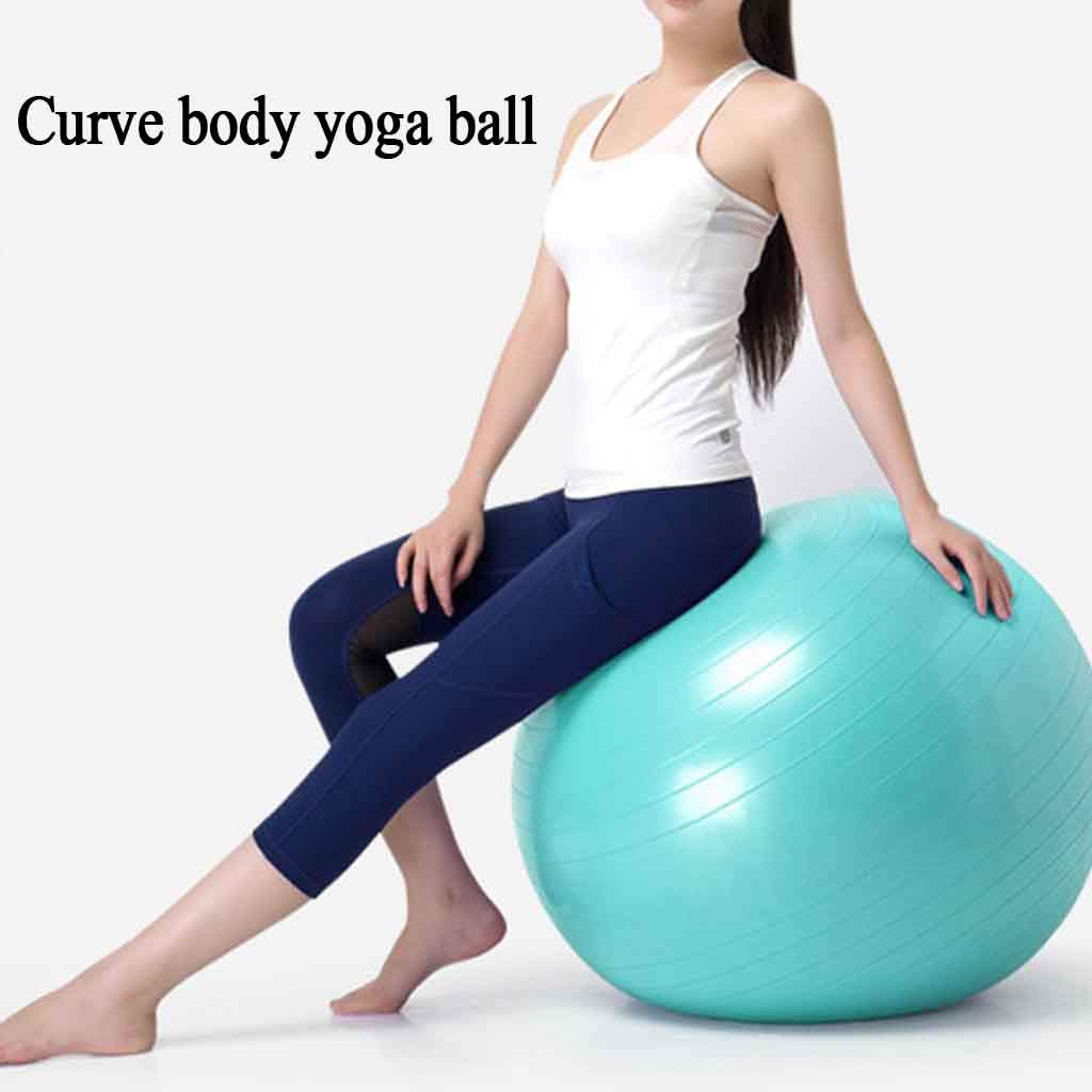 Yoga Ball Embarazo Ejercicio Gimnasio Ball Anti-Burst ...